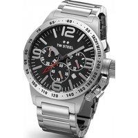 Unisex TW Steel Canteen Chronograph 40mm Watch TW0301