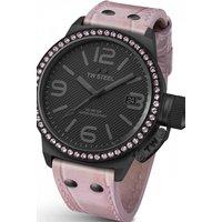 Image of Ladies TW Steel Cool Black Crystal 44 45mm Watch TW0911