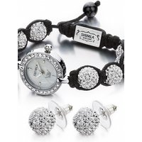 Shimla Jewellery Watch Earring Gift Set JEWEL SH-043G