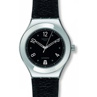 Image of Mens Swatch Black Board Automatic Watch YAS405