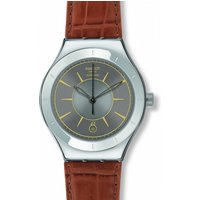 Image of Mens Swatch Grey Sky Automatic Watch YAS406