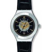 Image of Mens Swatch Dark Sky Automatic Watch YAS407