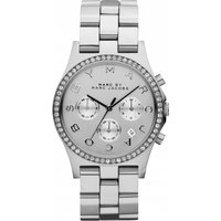 Image of Ladies Marc by Marc Jacobs Henry Glitz Chronograph Watch MBM3104