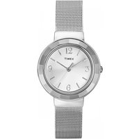 Ladies Timex Dress Mesh Watch T2P196