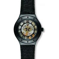 Image of Mens Swatch Rosetta Nera Automatic Watch YAB100