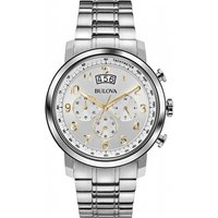 Mens Bulova Dress Chronograph Watch 96B201