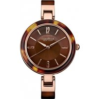 Ladies Caravelle New York Bangle Watch 44L137