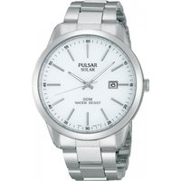 Mens Pulsar Dress Solar Powered Watch PX3019X1