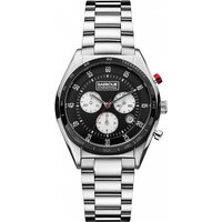 Image of Mens Barbour International Boswell Chronograph Watch BB025BKSL