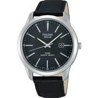 Mens Pulsar Dress Solar Powered Watch PX3029X1