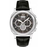 Mens Bulova Dress Chronograph Watch 96B218
