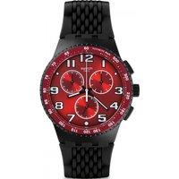 Image of Mens Swatch Chronoplastic - Testa Di Toro Chronograph Watch SUSB101