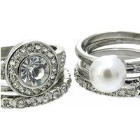 Lipsy Jewellery Ring Set M L JEWEL LPJ-5702