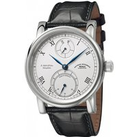 Mens Muhle Glashutte Robert Muhle Kleine Auf Ab Manufacture Mechanical Watch M1-11-15-LB