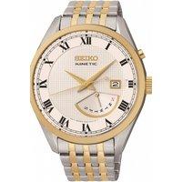 Mens Seiko Dress Retrograde Kinetic Watch SRN058P1