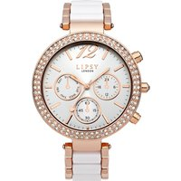 Image of Ladies Lipsy Watch LPLP349