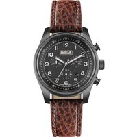 Image of Mens Barbour Byker Chronograph Watch BB033GNBR