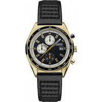 Image of Mens Barbour International Boswell II Chronograph Watch BB025GDBK
