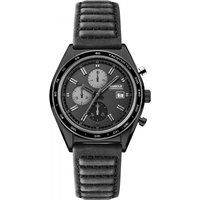 Image of Mens Barbour International Boswell II Chronograph Watch BB025GNBK