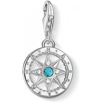 Image of Ladies Thomas Sabo Sterling Silver Charm Club Compass Charm 1228-405-17