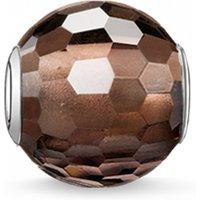 Image of Thomas Sabo Jewellery Karma Beads - Smoky quartz Bead JEWEL K0082-031-2