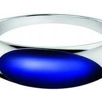 Image of Ladies Calvin Klein Stainless Steel Extra Small Closed Bangle KJ3QLD0201XS