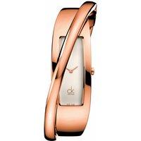 Ladies Calvin Klein Feminine Small Bangle Watch K2J24601