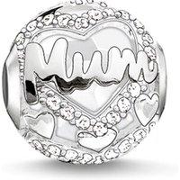 Image of Thomas Sabo Jewellery Karma Beads Mum Bead JEWEL K0190-625-14
