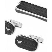 Emporio Armani Jewellery Black Carbon Gift Set JEWEL EGS2114040