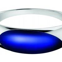 Image of Ladies Calvin Klein Stainless Steel Medium Closed Bangle KJ3QLD02010M
