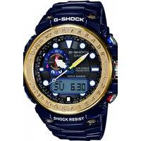 Image of Mens Casio G-Shock Premium Gulfmaster Alarm Chronograph Radio Controlled Watch GWN-1000F-2AER