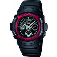 Image of Mens Casio G-Shock Alarm Chronograph Watch AW-591-4AER