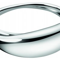 Image of Ladies Calvin Klein Stainless Steel Extra Small Fluid Bangle KJ3XMD0001XS