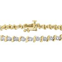 Jewellery Essentials Diamond Set Bracelet JEWEL AJ-12110667