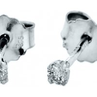 Jewellery Essentials 0.10ct Diamond Set Stud Earrings JEWEL AJ-12152376