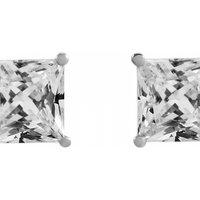 Image of Jewellery Essentials 4mm Cubic Zirconia Stud Earrings JEWEL AJ-15040087