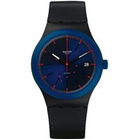 Image of Mens Swatch Sistem Notte Automatic Watch SUTB403
