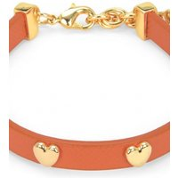 Image of Juicy Couture Jewellery Layered In Couture Heart Leather Bracelet JEWEL WJW734-821