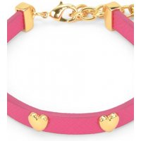 Image of Juicy Couture Jewellery Layered In Couture Heart Leather Bracelet JEWEL WJW734-654