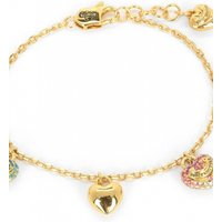 Image of Juicy Couture Jewellery Iconic Gradient Pave Heart Charm Bracelet JEWEL WJW690-710