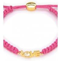 Image of Juicy Couture Jewellery Love Juicy Cord Bracelet JEWEL GJW31-673