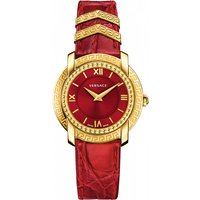 Ladies Versace Dv25 Round 36mm Watch Vam020016