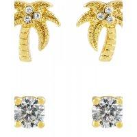 Juicy Couture Jewellery Palm Tree Stud Earrings Set JEWEL WJW880-710-U
