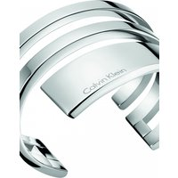 Image of Ladies Calvin Klein Stainless Steel Small Beyond Bangle KJ3UMF00010S