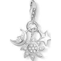 Image of Thomas Sabo Jewellery Charm Club Sun Moon Star Charm JEWEL 1365-051-14