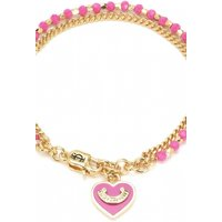 Image of Juicy Couture Jewellery Heart Bead & Chain Bracelet JEWEL WJW839-655-U