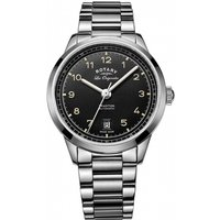 Image of Mens Rotary Swiss Made Tradition Automatic Watch GB90184/19