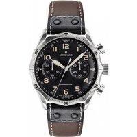 Mens Junghans Meister Pilot Automatic Chronograph Watch 027/3591.00