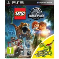 Lego Jurassic World Toy Edition PS3 Game (with Gallimimus Dinosaur)