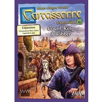 Carcassonne: Count, King & Robber Expansion 6 (English 2018 2nd Ed) Board Game